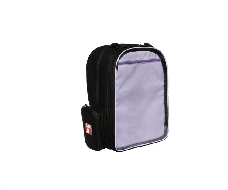 Aniji Bags - Echo Purple Messenger Bag