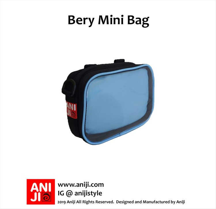 Aniji Bags - Bery Blue Messenger Bag
