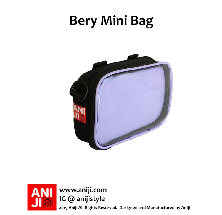 Aniji Bags - Bery Purple Messenger Bag