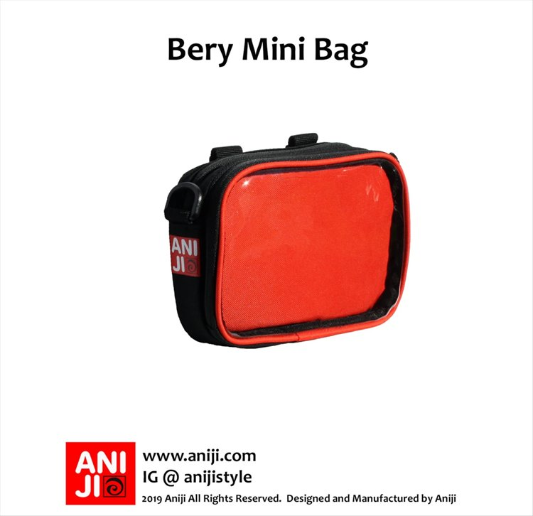 Aniji Bags - Bery Red Messenger Bag