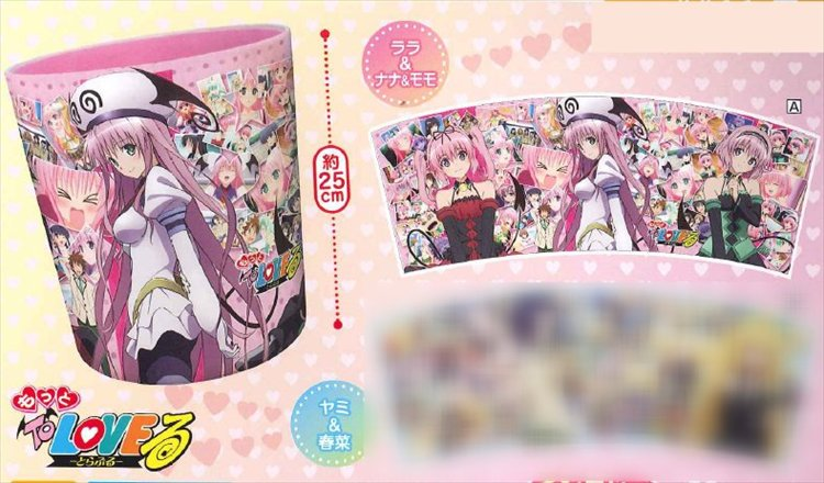 Motto To Love Ru - Pink Waste Basket A