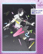 Bakemonogatari - Hitagi Senjougahara Taito Wall Scroll Speakers