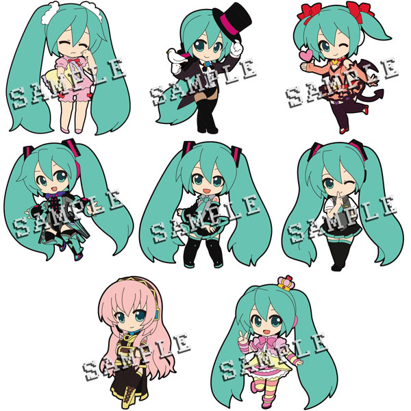 Vocaloid - Rubber Trading Phone Strap Track 04 Box