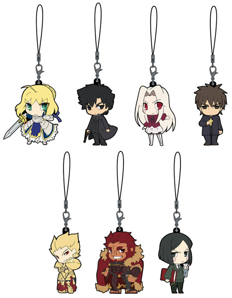 Fate ZERO - Trading Rubber Phone Strap Box