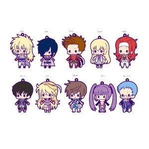 Tales of Series - Tales of Friends vol 1 Rubber Strap Collection Box