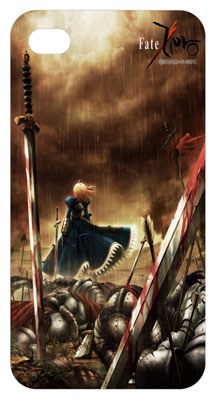Fate Zero - Saber Key Visual Sotogawa iPhone 4 / 4S Case
