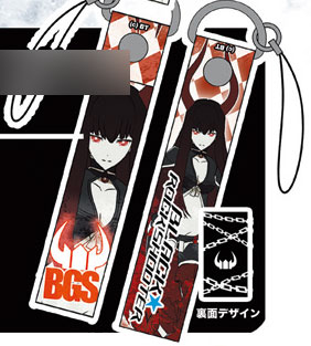 Black Rock Shooter - Black Gold Saw Cell Phone Strap