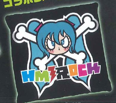 Vocaloid - Hatsune Miku Rock Cushion B