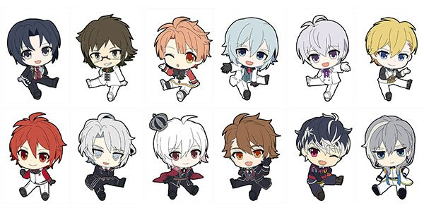 Idolish Seven - Petanko Rubber Strap Vol.2 - Single BLIND BOX