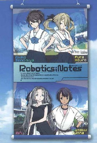 Robotics Notes - Blue Wall Scroll