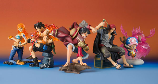 One Piece - One Piece Episode of Characters Trading Figure Set of 5