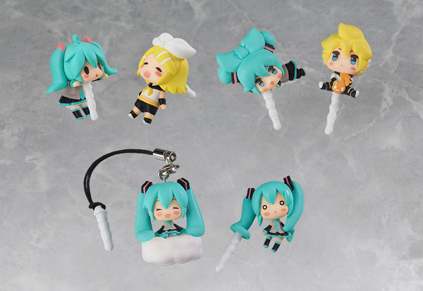 Vocaloid - Earphone Jack Accessory Set of 6