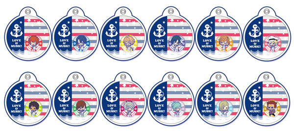 Uta no Prince-sama - Shining All Star CD Gel Phone Strap Set of 12