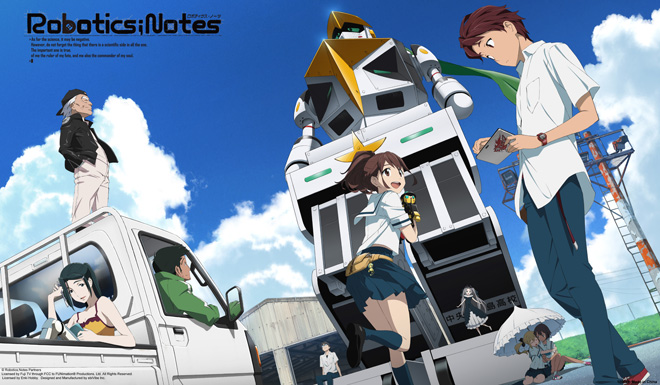 Robotics Notes - Akiho Senomiya and Kaito Yashio Group Card Game Play Desk Mat