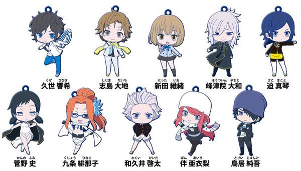 Devil Survivor 2 Anime Characters : Devil survivor the animation rubber character trading