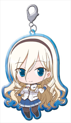 Walkure Romanze - Character Trading Metal Charm Straps Set of 8