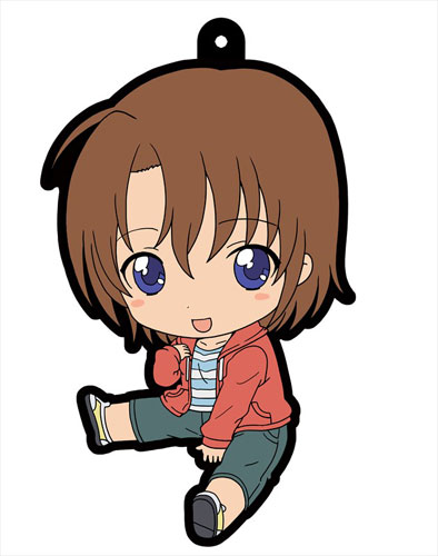 Golden Time - Petanko Character Rubber Trading Straps Set of 6