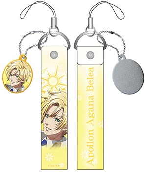 Kamigami no Asobi - Smart Phone Strap With Screen Cleaner Apollon