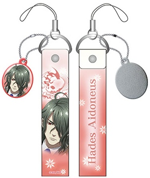 Kamigami no Asobi - Smart Phone Strap With Screen Cleaner Hades