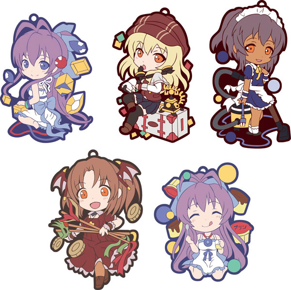 Nananas Buried Treasure - Toysworks Collection Niitengomu Character Straps SINGLE BLIND BOX