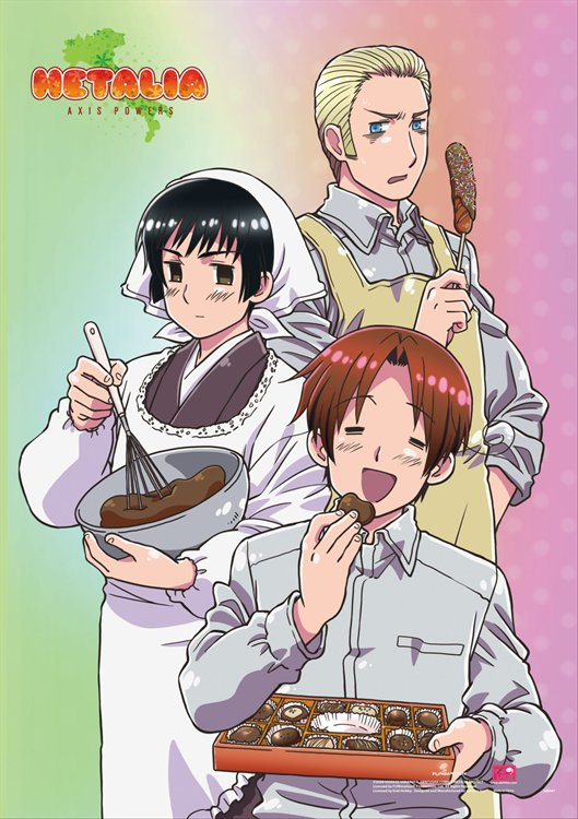 Hetalia- Group 2 Wall Scroll