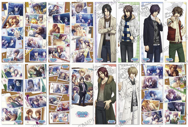 Hakuoki - Pos X Pos Collection set of 8 SSL BLIND BOX