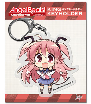 Angel Beats Operation Wars- Yui King Keychain C