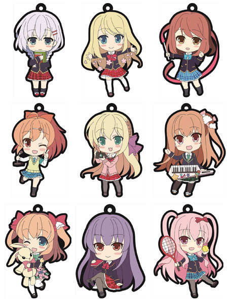 Girl Friend BETA- Trading Rubber Strap BLIND BOX