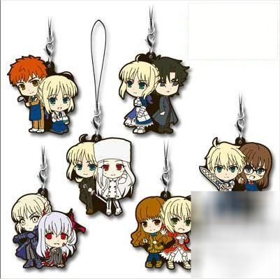 Fate- Character Rubber Strap Saber Fest BLIND BOX Prize H