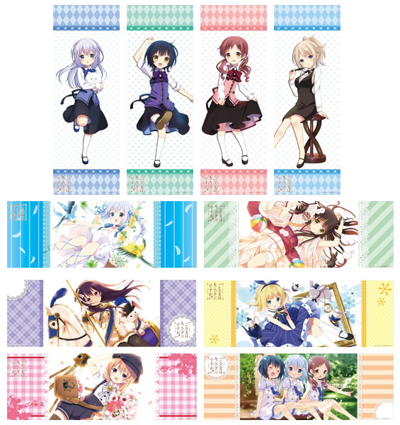 Is the Order a Rabbit- Collection Poster Volume 2 (Single BLIND BOX)