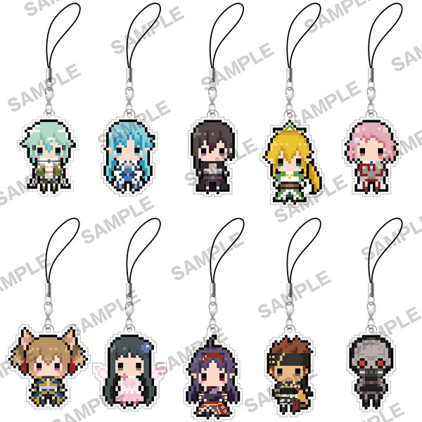 Sword Art Online 2- PuchiBitto Strap Collection (Single BLIND BOX)