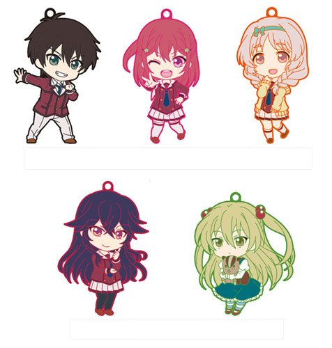 When Supernatural Battles Became Commonplace- Nendoroid Plus Rubber Strap Volume 1- Single BLIND BOX