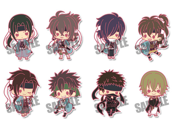 Hakuouki the Movie- Rubber Strap Collection- Single BLIND BOX