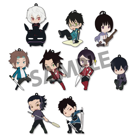 World Trigger- Trading Rubber Strap- Single BLIND BOX