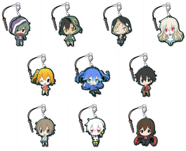 Mekakucity Actors- Trading Metal Charm Strap- Single BLIND BOX