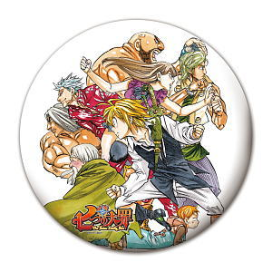 The Seven Deadly Sins- Large Button B