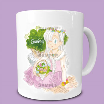 The Seven Deadly Sins- Collection Mug Elizabeth