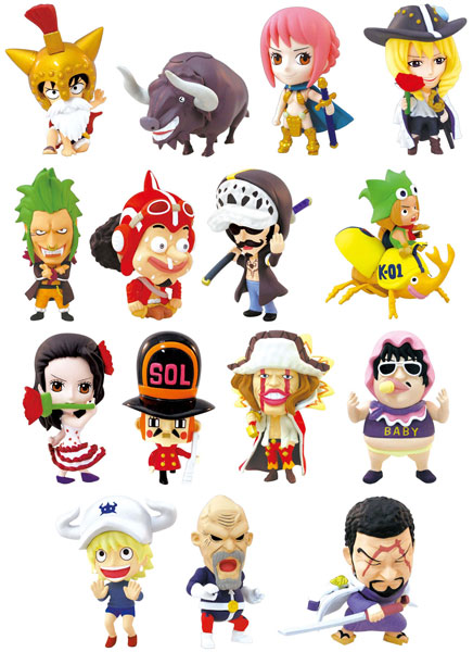 One Piece- Dressrosa Hen Part 1 Ani-chara Heroes- Single BLIND BOX