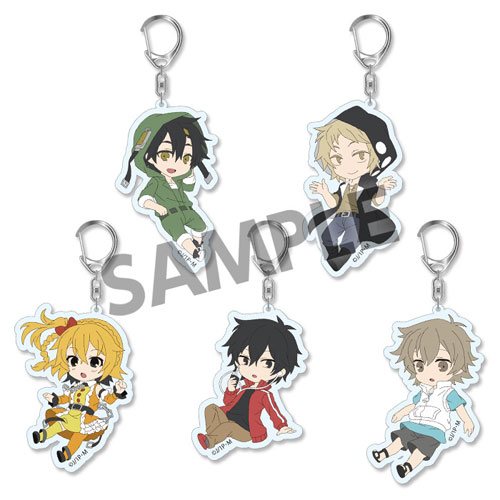 Mekakucity Actors- Trading Acrylic Keychain Act 1 Pic Lil- Single BLIND BOX