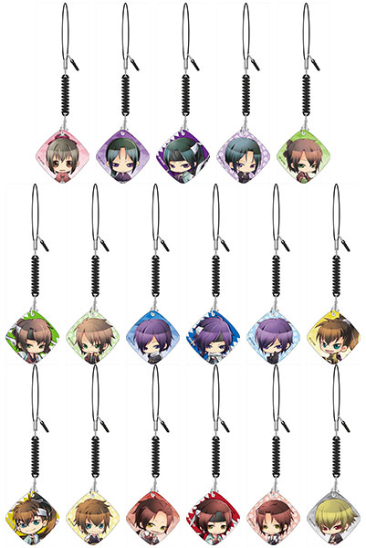 Hakuouki the Movie- Cellphone Cleaner- Single BLIND BOX