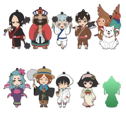 Hozuki No Reitetsu- Trading Rubber Strap- Single BLIND BOX