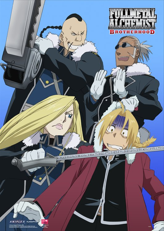Fullmetal Alchemist- Fort Briggs Wall Scroll