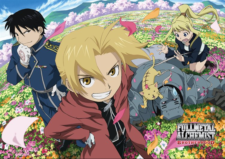Fullmetal Alchemist- Spring Day Wall Scroll