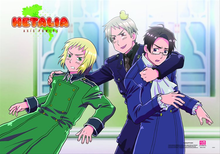 Hetalia- Group E Wall Scroll