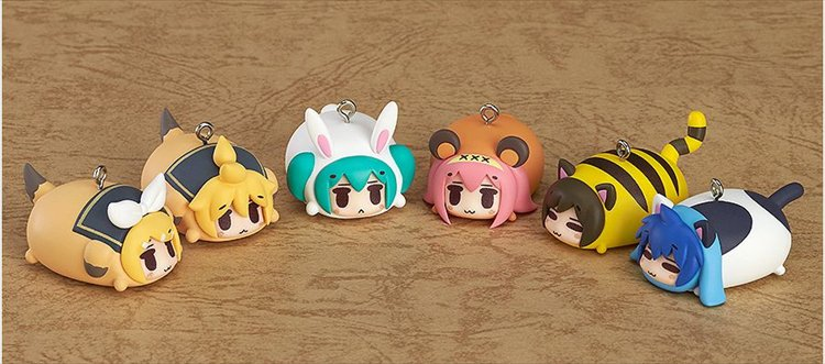Vocaloid - Hatsune Miku Animal Charm Strap Character Vocal Series - Single BLIND BOX