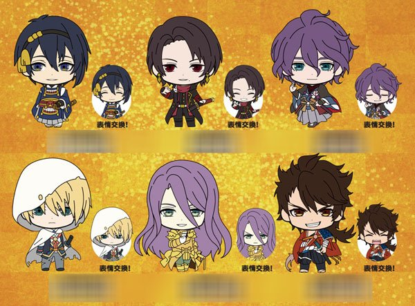 Touken Ranbu - Unit 1 Picktam - Single BLIND BOX