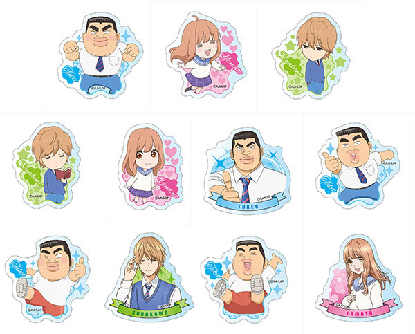 My Love Story - Acrylic Badge - Single BLIND BOX