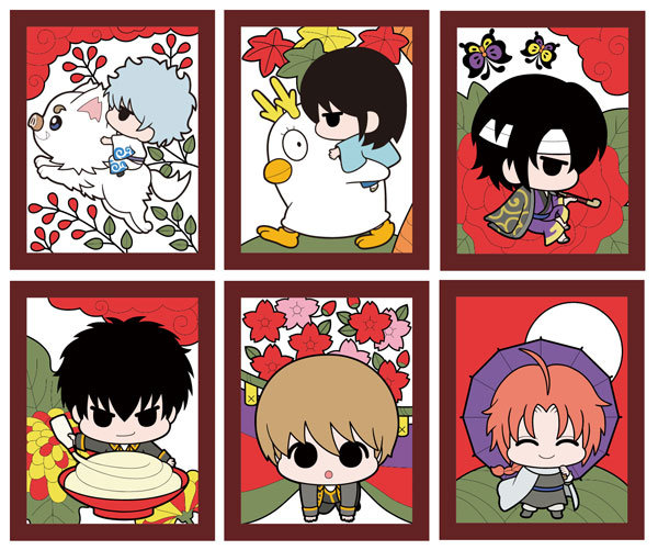 Gintama - Ginsan no Hanafuda Hen Rubber Straps - Single BLIND BOX