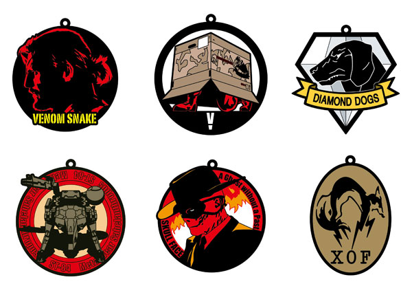 Metal Gear Solid V The Phantom Pain - Imaging Rubber Collection - Single BLIND BOX