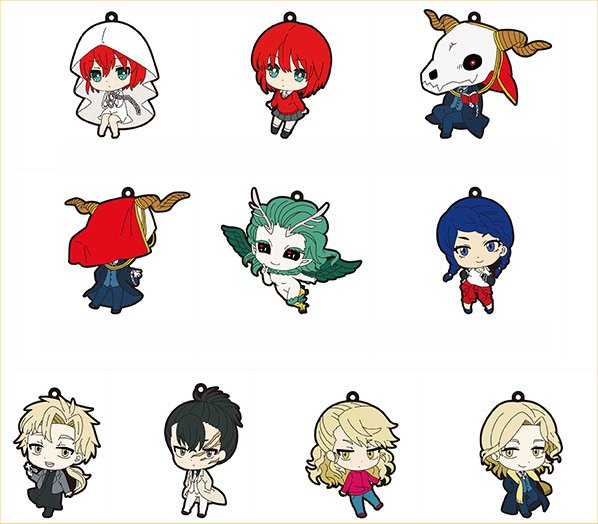 The Ancient Magus Bride - Trading Rubber Strap - Single BLIND BOX